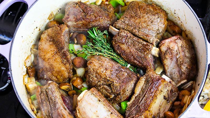 Creamy Beef Short Rib Marsala 30