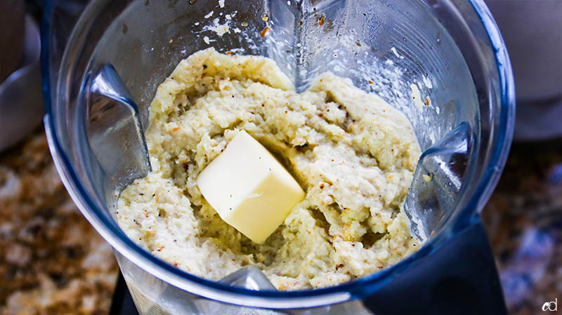 Roasted Mashed Cauliflower 4