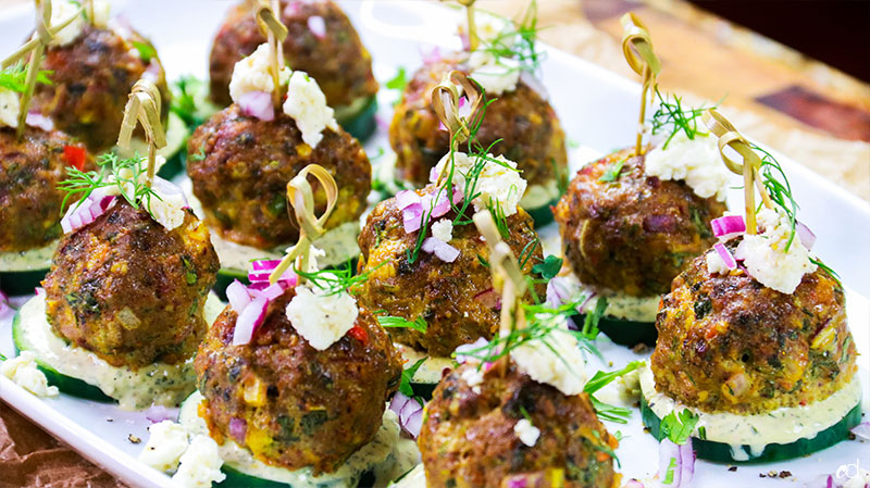 Spicy Lamb Meatballs 2