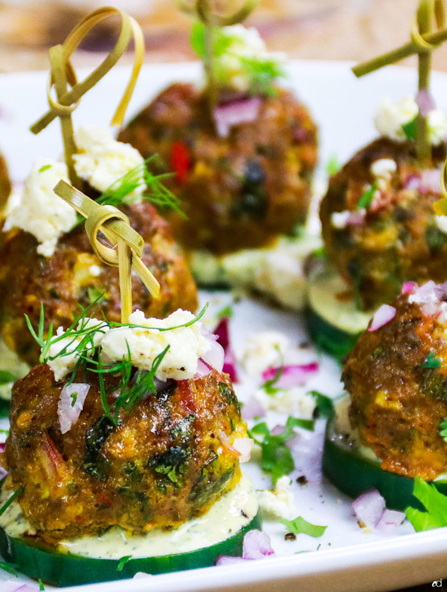 Spicy Lamb Meatballs F1