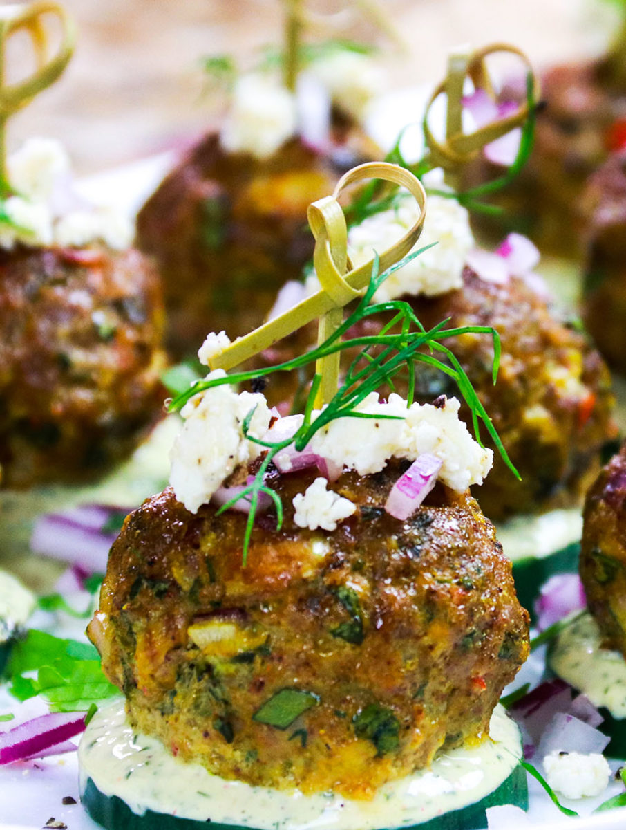 Spicy Lamb Meatballs F3