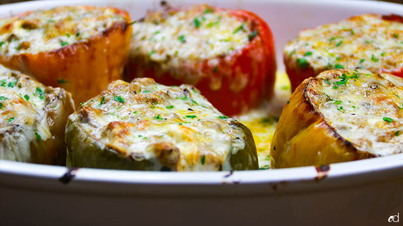 Steak And Cheese Stuffed Peppers 8