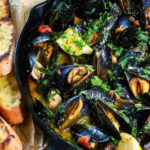 Grilled Drunken Beer Braised Mussels 1