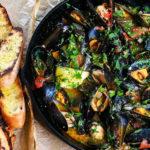 Grilled Drunken Beer Braised Mussels 5