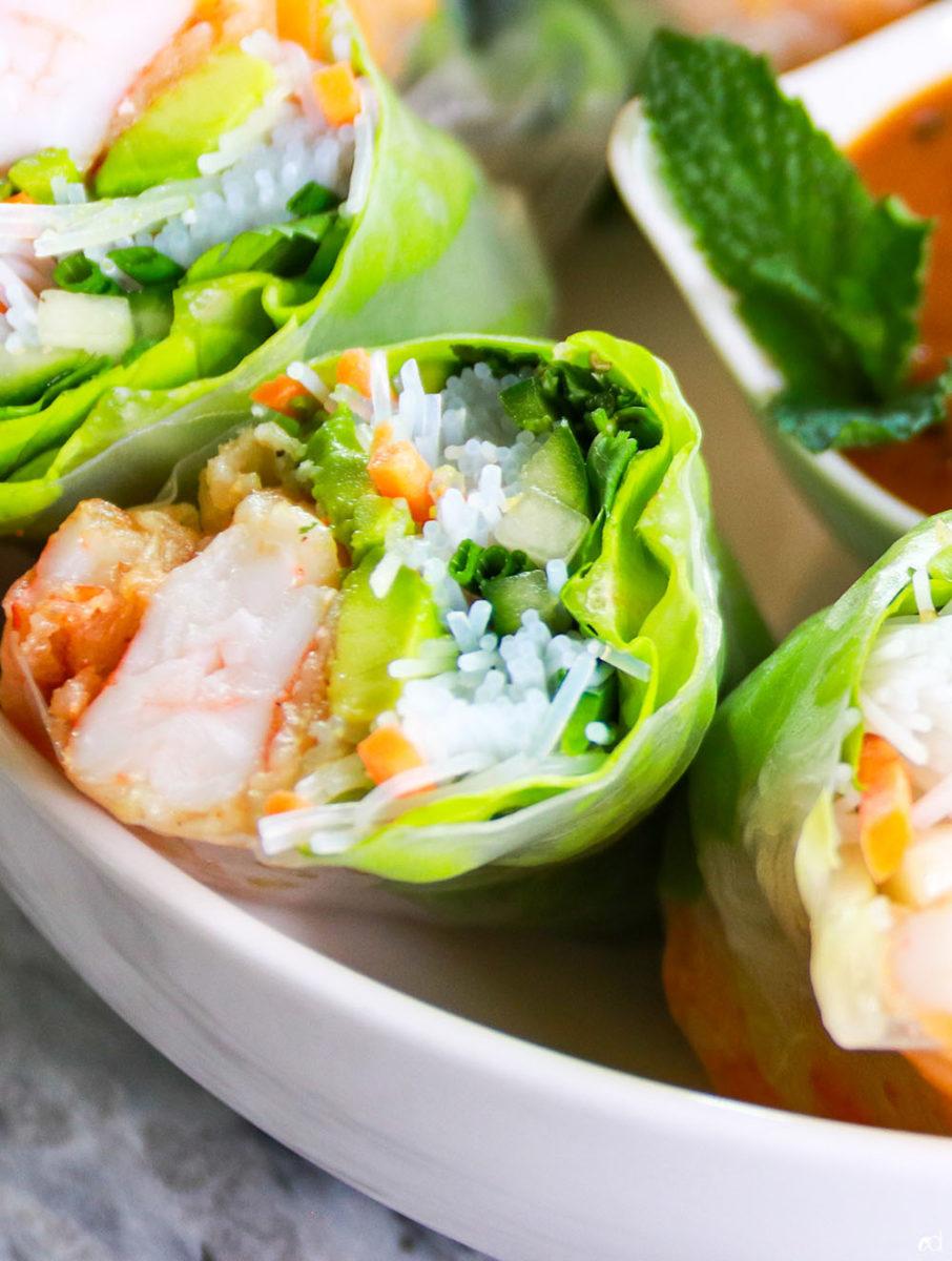 Shrimp Tempura Summer Rolls 2