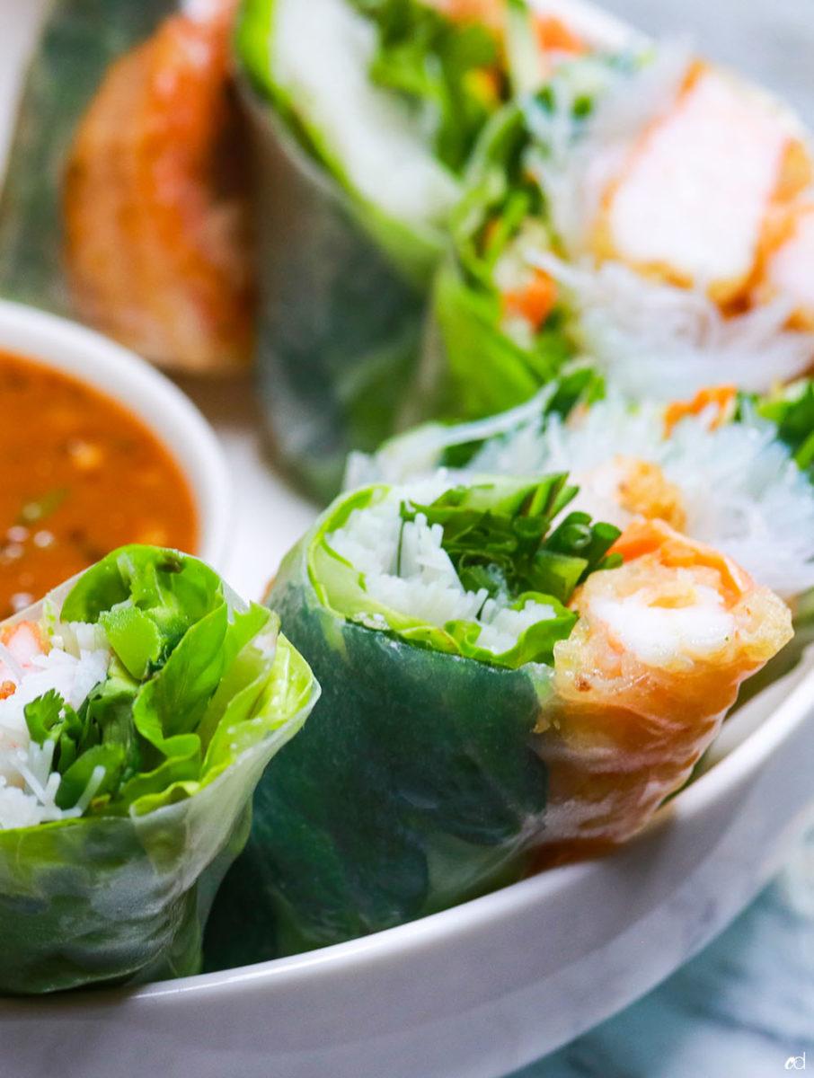 Shrimp Tempura Summer Rolls 3