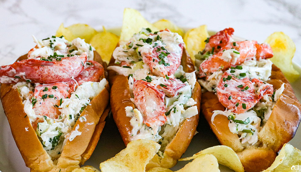 Crab And Lobster Seafood Rolls 10