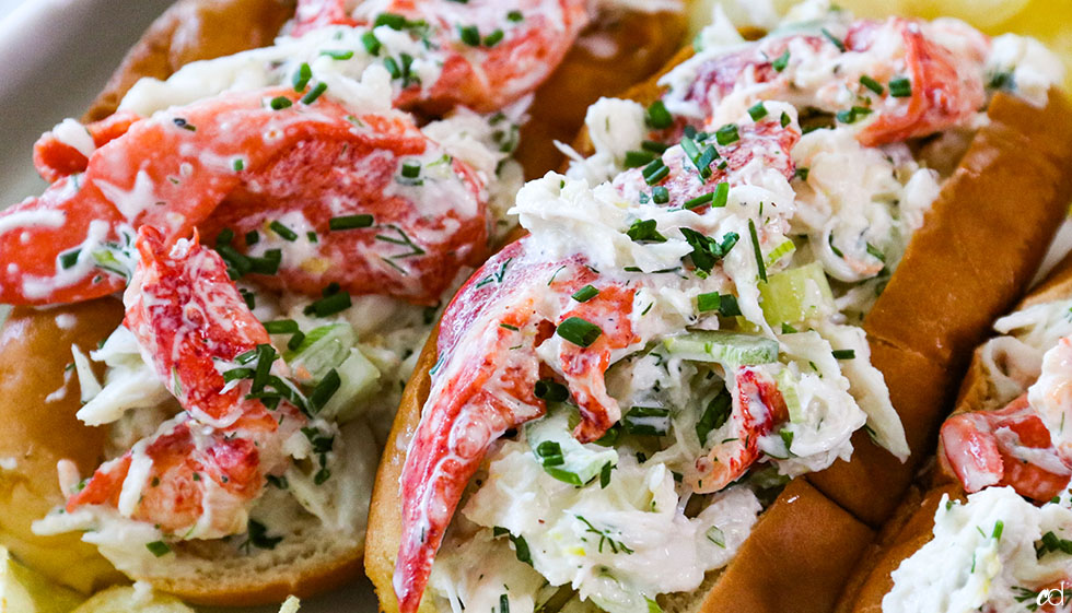 Crab And Lobster Seafood Rolls 12