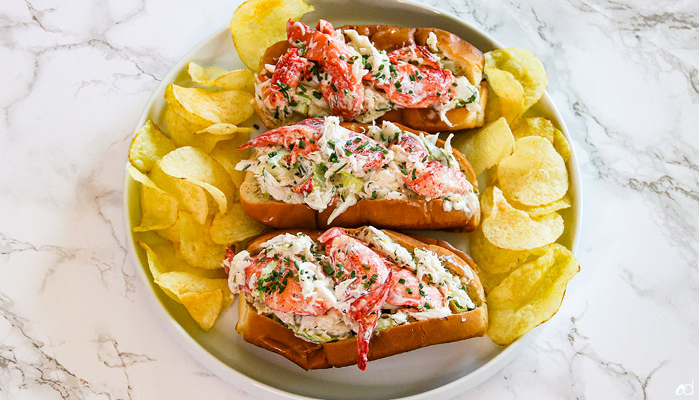 Crab And Lobster Seafood Rolls 9