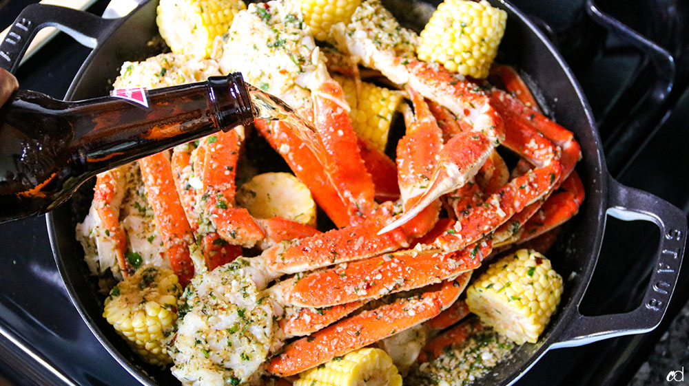 Garlic Butter Crab Legs