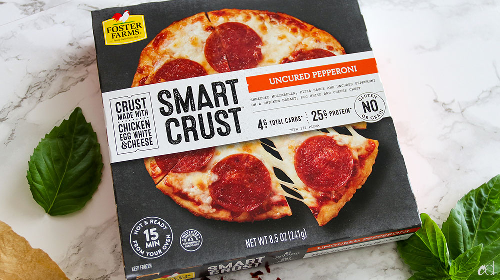 Foster Farms Smart Crust Pizza Keto 1