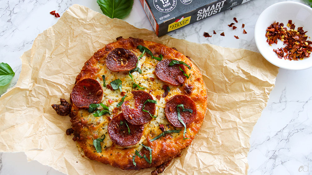 Foster Farms Smart Crust Pizza Keto 3